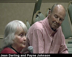 Jean Darling and Payne Johnson